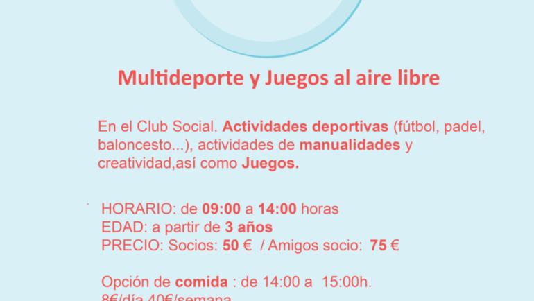 Campus Semana Blanca Multideporte